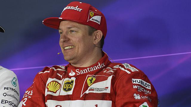F1 driver Kimi Raikkonen