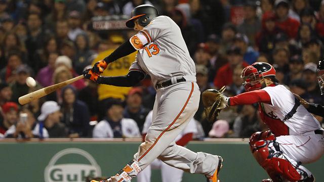 Baltimore Orioles third baseman Manny Machado