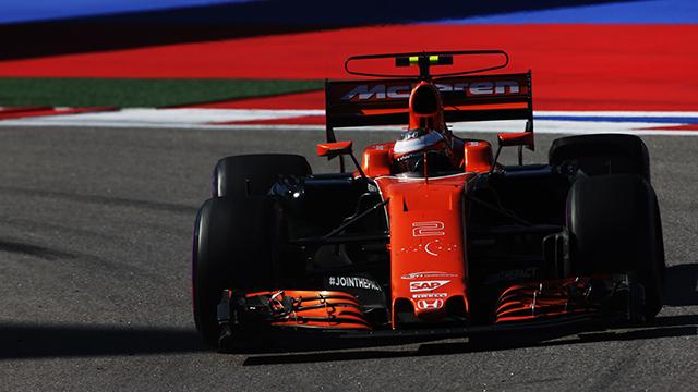 Stoffel Vandoorne, McLaren-Honda