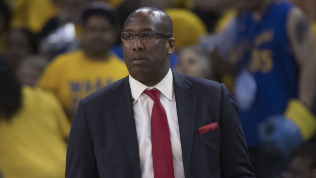 Golden State Warriors coach Mike Brown