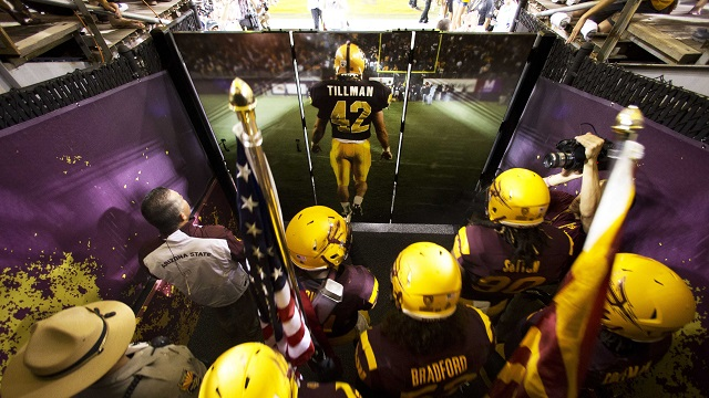 former Arizona Sun Devils player Pat Tillman