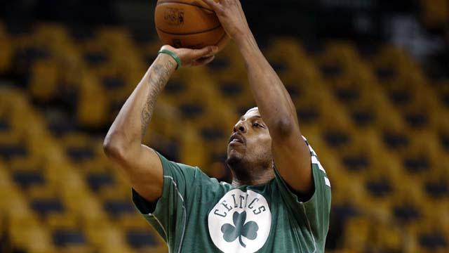 Celtics forward Paul Pierce