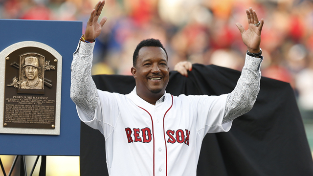 Hall of Fame player Pedro Martinez