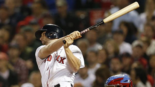 Boston Red Sox infielder Sam Travis