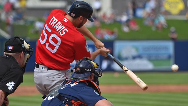 Red Sox first base prospect Sam Travis