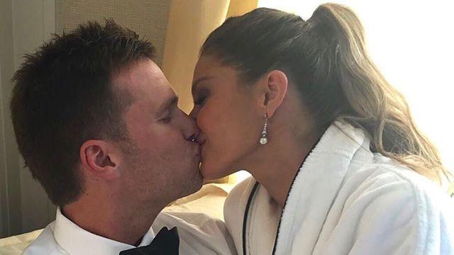 New England Patriots quarterback Tom Brady and wife Gisele Bundchen