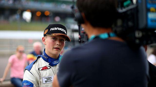 Formula 4 driver Billy Monger