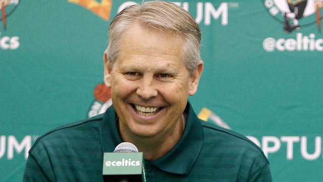 President of basketball operations Danny Ainge