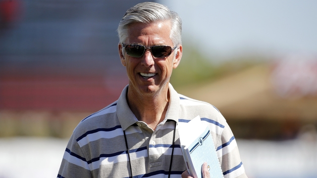 Red Sox president of basketball operations Dave Dombrowski
