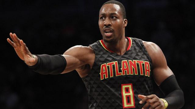 Atlanta Hawks center Dwight Howard