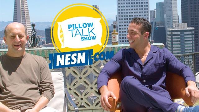 """Jeff Van Gundy With """"Pillow Talk Show"""" host Max Berkowitz"""