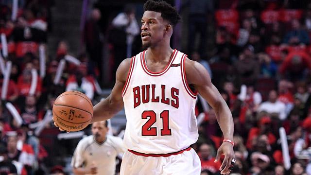 Chicago Bulls forward Jimmy Butler