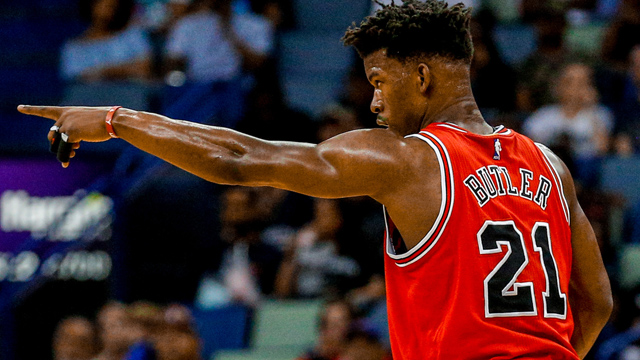 Chicago Bulls forward Jimmy Butler
