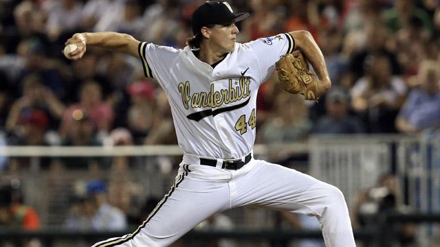 Vanderbilt pitcher Kyle Wright