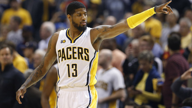 Indiana Pacers forward Paul George