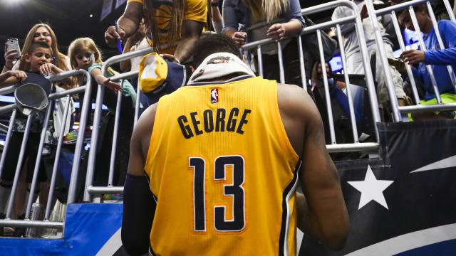 Indiana Pacers swingman Paul George