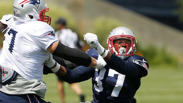 Patriots tight end Rob Gronkowski, strong safety Jordan Richards