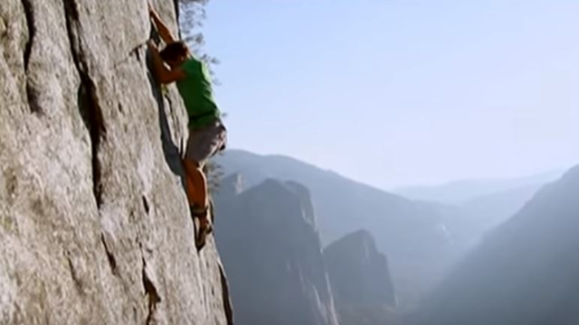 Rock climber Alex Honnold