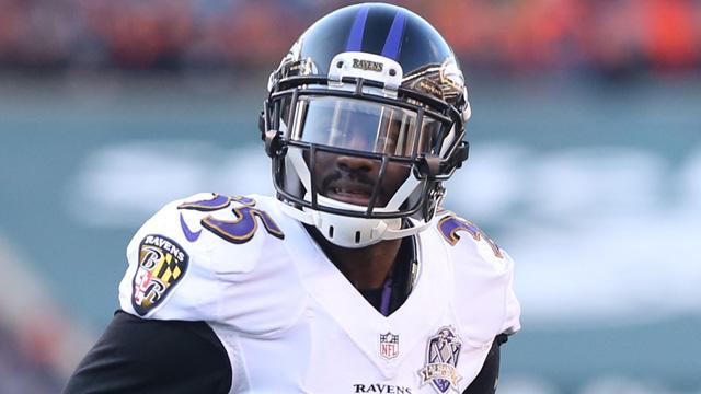 Ravens cornerback Shareece Wright
