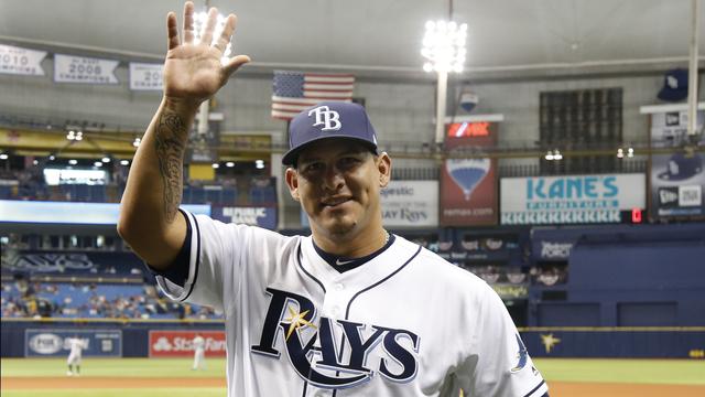 Rays catcher Wilson Ramos