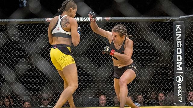 Amanda Nunes, Miesha Tate at UFC 200
