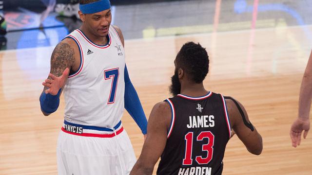 Carmelo Anthony, James Harden