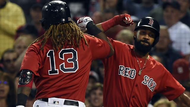 Boston Red Sox designated hitter Hanley Ramirez