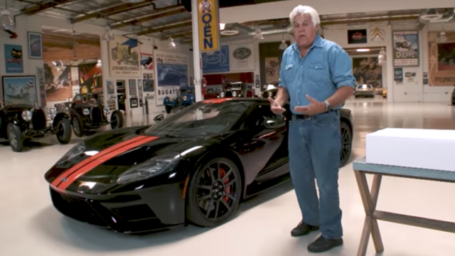 Jay Leno, Ford GT