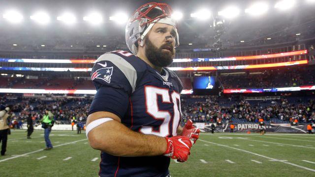 New England Patriots outside linebacker Rob Ninkovich