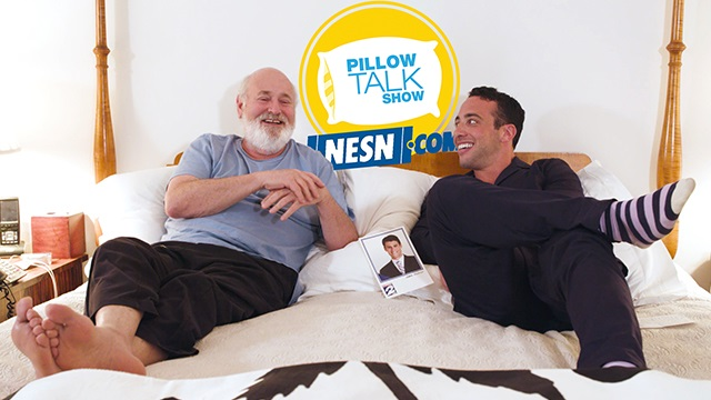 """Rob Reiner with Max Berkowitz on """"Pillow Talk Show"""""""