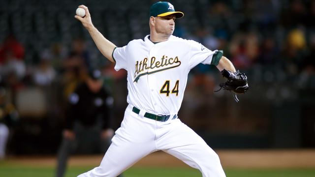 A's pitcher Ryan Madson