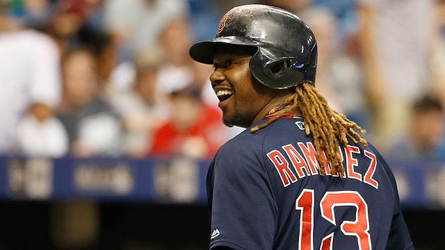 Boston Red Sox first baseman Hanley Ramirez