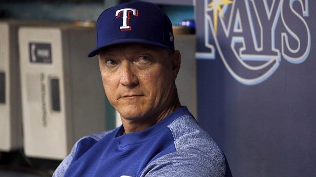 Texas Rangers manager Jeff Banister