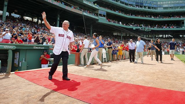 Boston Red Sox broadcaster Jerry Remy