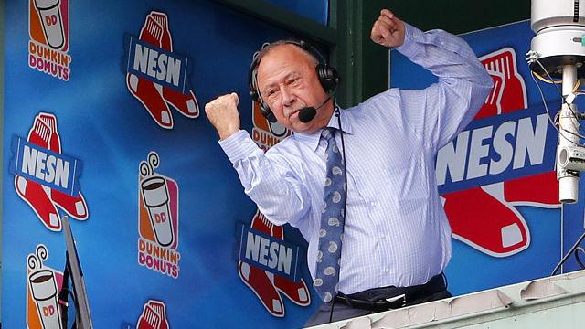 NESN broadcaster Jerry Remy