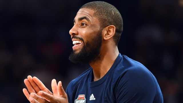 Cavs guard Kyrie Irving