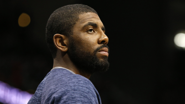 Cleveland Cavaliers point guard Kyrie Irving