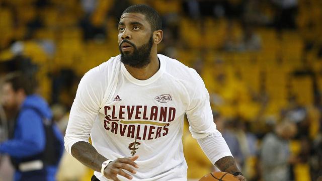 Boston Celtics guard Kyrie Irving