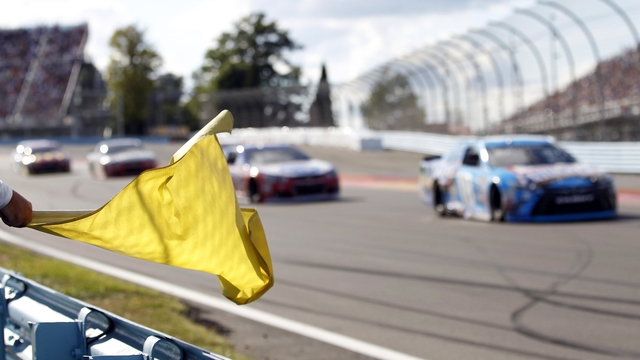 NASCAR caution flag