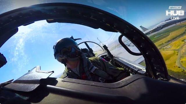 NASCAR flyover