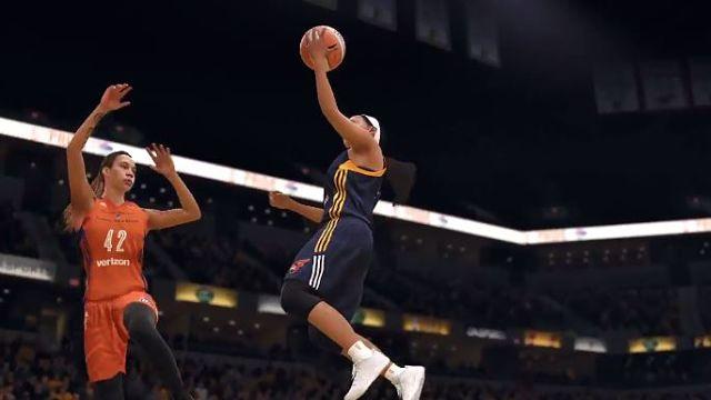 WNBA in 'NBA Live 18'