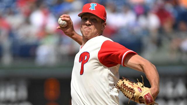 Philadelphia Phillies pitcher Nick Pivetta