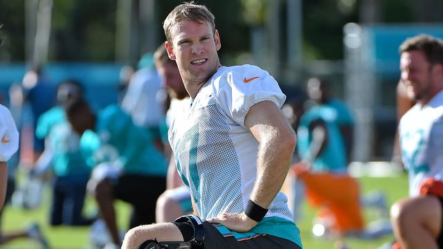 Dolphins quarterback Ryan Tannehil