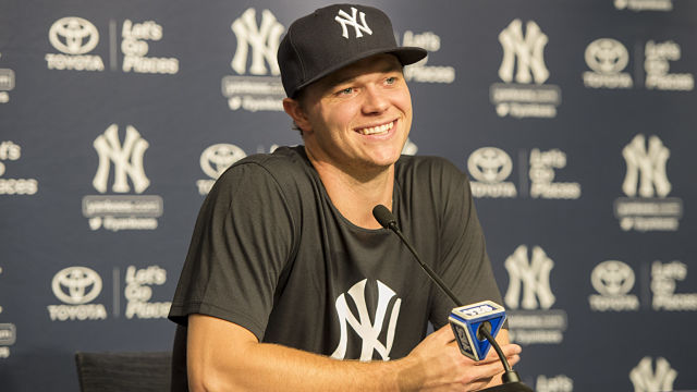 New York Yankees pitcher Sonny Gray