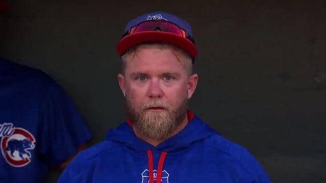Iowa Cubs catcher Taylor Davis
