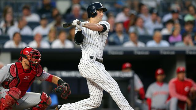 New York Yankees infielder Tyler Wad