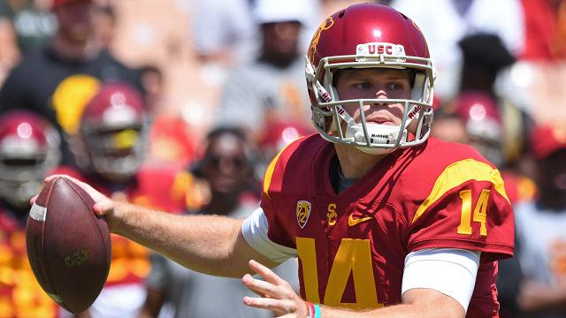 USC Trojans quarterback Sam Darnold