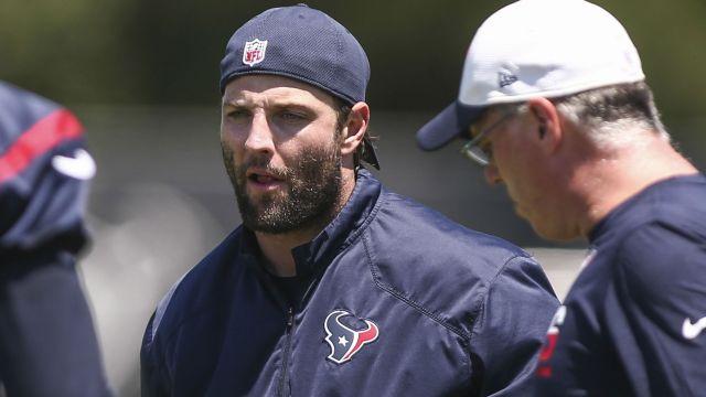 Houston Texans assistant coach Wes Welker