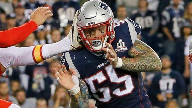 New England Patriots defensive end Cassius Marsh