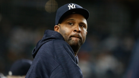 New York Yankees pitcher CC Sabathia
